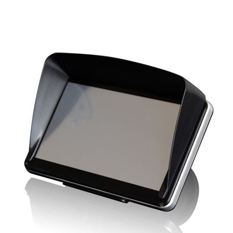 Universal Screen Visor Hood Sun Shade Lens Protector Shield for 5/7inch GPS Navigation TD326