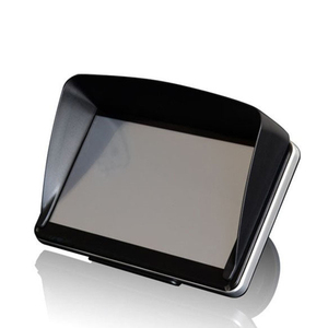 Universal Screen Visor Hood Sun Shade Lens Protector Shield for 5/7inch GPS Navigation TD326(China)