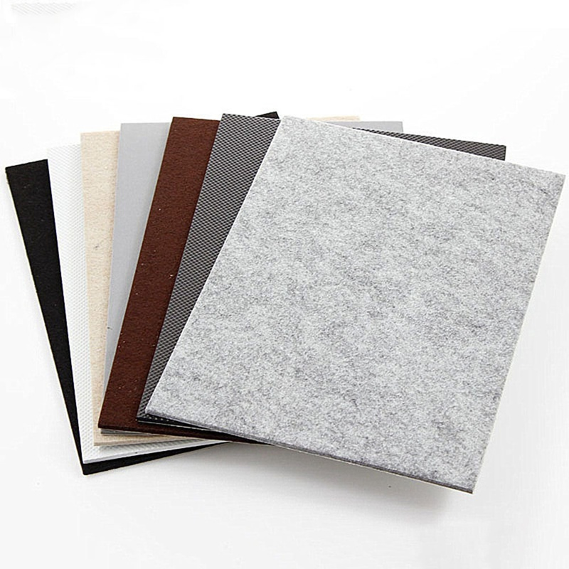 New Self Adhesive Square Felt Pads Furniture Floor Scratch Protector Felt Furniture Feet Foot Cover DIY Furniture Accessories
