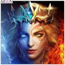 Mooncresin Алмазная мозаика мультяшный принц «сделай сам» алмазная