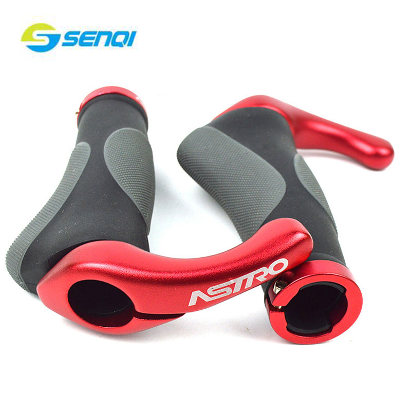 Bicycle Handle Grip Bike Handlebar Aluminum Alloy Soft Grip MTB Road Bicycle Accessories Bike Parts BZT040 easydo cycling lockable handle grip for bicycle mtb road bike handlebar bicycle grip bike aluminum alloy rubber bike grips sale page 3