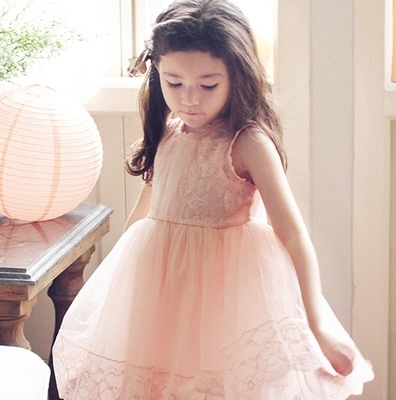 ФОТО Children's princess dress female baby girl dress net yarn TUTU dress