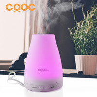 CRDC Mini Ultrasonic Air Aroma Humidifier With Changing Color LED Lights Electric Aromatherapy Essential Oil Aroma
