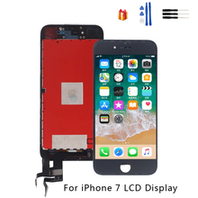 For iPhone 7 Touch Screen LCD Display Digitizer Replacement Parts For iPhone 7 LCD Display Phone Parts Free Toolsree Tools new 7 for texet tm 7086 lcd display screen 164 100mm tablet pc repairment parts free shipping