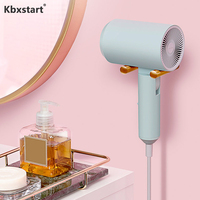 Kbxstart 220 240V Negative Ion Hair Care Foldable Styling Tool Dryer Low Radiation Mother And Baby Cold / Hot Hair Dryer