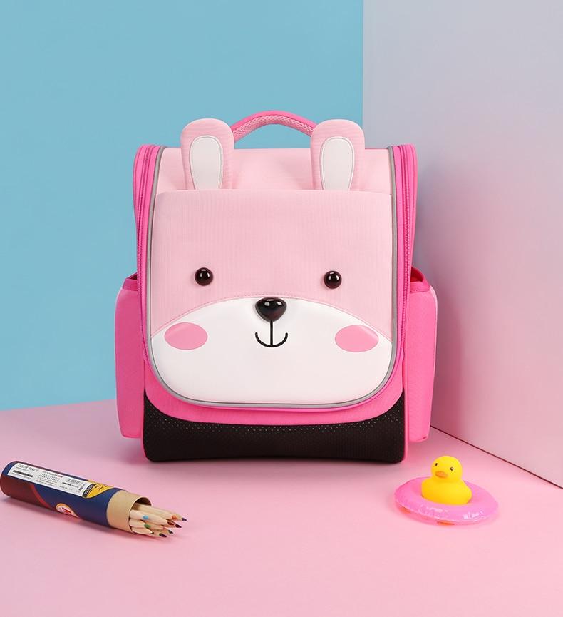 NOHOO 2018 nouveaux sacs 3D pour filles/garçons sac à dos enfants Cartoon sacs d'école pour étudiants école sac à dos bébé sacs mochilas escolares