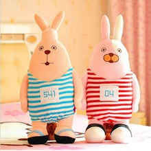 New stuffed plush  toy Usavich lover rabbit  doll  for children best for birthday gife