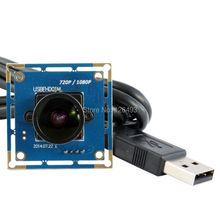 Free shipping 2MP 170degree fisheye lens CCTV Color CMOS OV2710 USB2.0 wide angle camera board for home security
