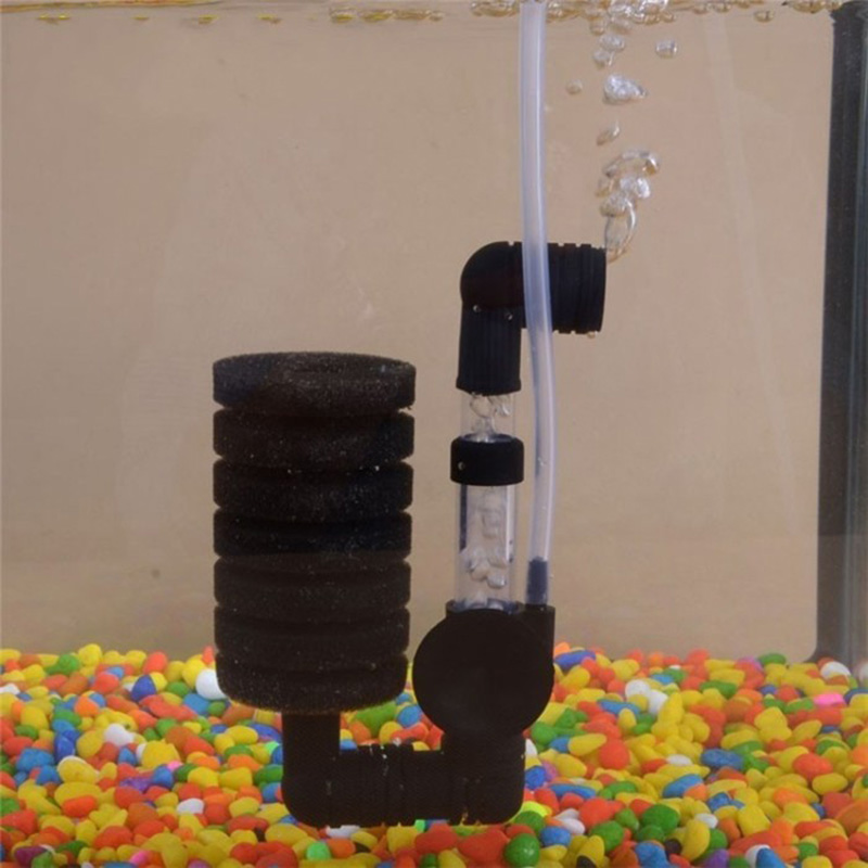 Aquarium Filter Fish Tank Air Pump Skimmer Biochemical Sponge Filter Aquarium Filtration Filter Cleaner Tools