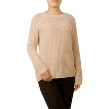 Comfort O-Neck Knitted Sweater