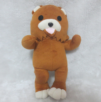 Japanese Anime Handmade Bear Dolls Pedobear Lourie Plush Toys Lovely Cute Christmas Gift 33cm Pedobear Plush Toys