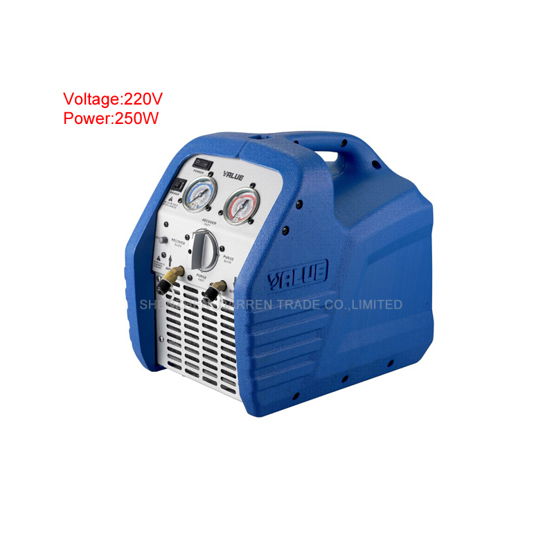 High reliable Refrigeration recovery machine VRR12L Air conditioner refrigerant recovery machine AC 220V network recovery