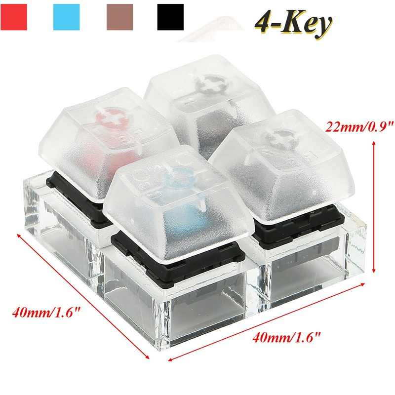 Keyboard keycaps Mechanical Keyboard Switches 9 MX Keyboard Tester Kit Keycaps Testing Tool Drop Shipping Support