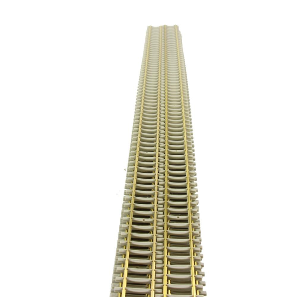 5pcs 1 87 HO Rail Model Train Railroad Tracks HO Scale Model Railway Sleeper 50cm HP17HO