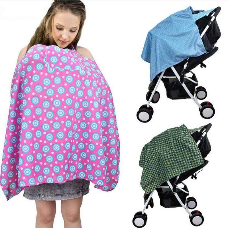 Nieuwe 100*67.5 Cm Leuke Patroon Pasgeboren Baby Cape Voor Voeden Voor Zuigelingen Mum Verpleging Borstvoeding Cover Moeder Borstvoeding Schort Van Hoge Kwaliteit