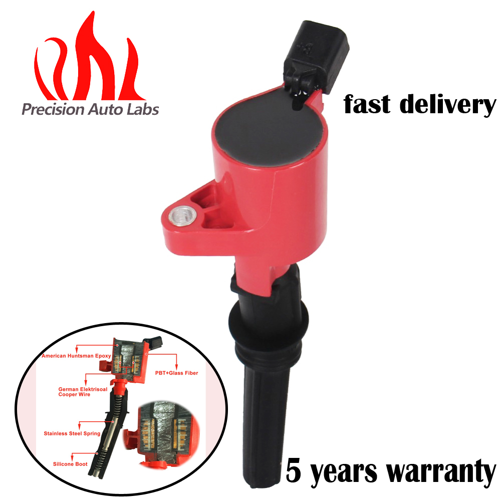 Buy Precision Auto Labs 1 Pc New Ignition Coil For 2000 Spark Plug F150 Ford 5 4 High Performance Multispark Epoxy Dg508 From Reliable Suppliers On