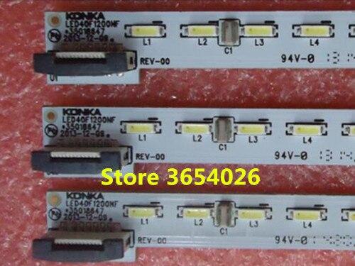 FOR konka LED40F1200AF/NF Article lamp 35018489 35018646 1piece=72LED 498MMFOR konka LED40F1200AF/NF Article lamp 35018489 35018646 1piece=72LED 498MM