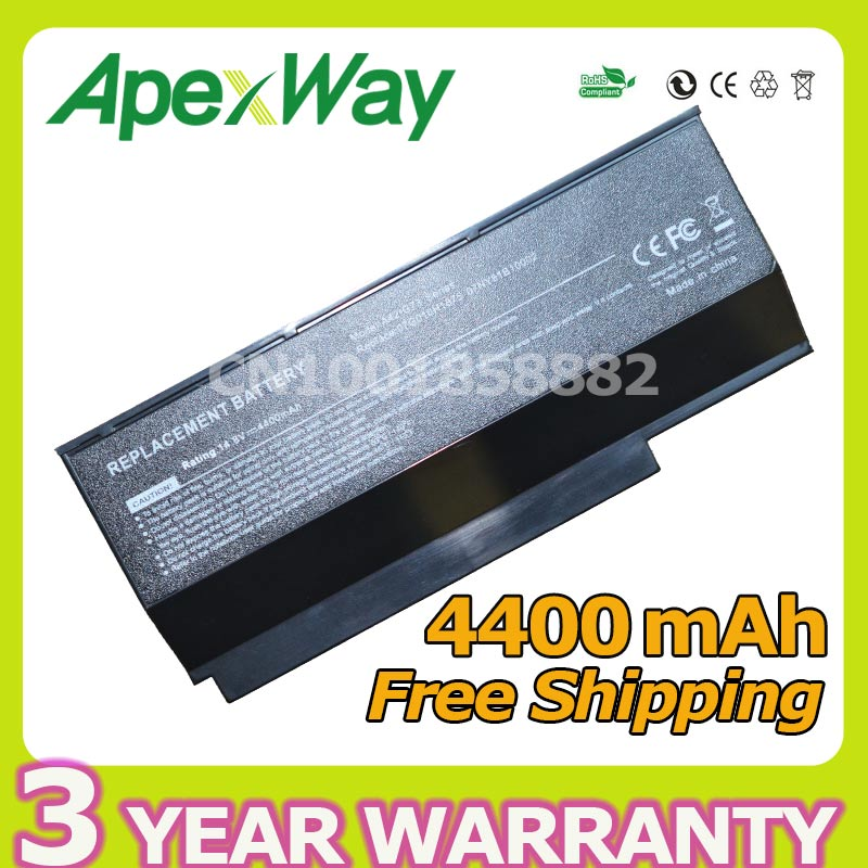 Apexway 8 cell <font><b>battery</b></font> for <font><b>Asus</b></font> VX7 A42-<font><b>G73</b></font> A42-G53 <font><b>G73</b></font>-52 <font><b>G73</b></font> G73G G73GW G73J G73JH G73JW G73S G73SW G53 G53J G53JW G53S G53SW image