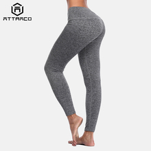 Attraco Women Yoga Pants Slim High Waist Sports Sport Wear Fitness Gym Legging Running Tights
