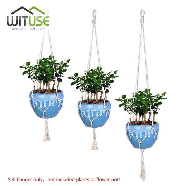 New Flower Pots With Hooks