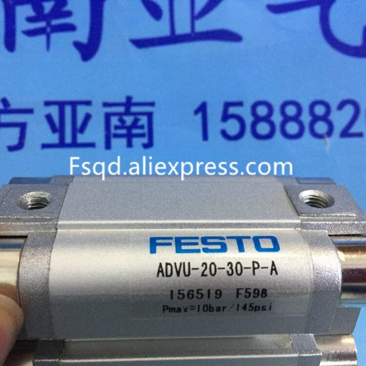 ADVU-20-5-P-A  ADVU-20-10-P-A ADVU-20-15-P-A ADVU-20-20-P-A ADVU-20-25-P-A  FESTO Compact cylinders advu 12 20 a p a advu 12 25 a p a advu 12 30 a p a festo compact cylinders