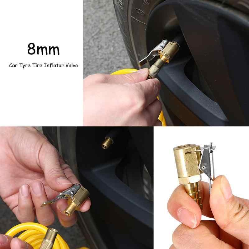 WINOMO 8 мм Автомобильный шиномонтажный клапан воздушный соединитель пневматический насос соединитель весь медный