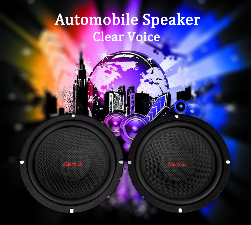 Haut-parleur de voiture Automobile bidirectionnel composant haut-parleur 6.5 pouces haut Pitch voiture Audio universel tout voiture parfait son voiture HIFI