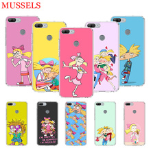 Hey Arnold Fondos Protect Silicome Phone Case for Huawei Honor 8X 20 9 10 Lite 8A 10i 20i 8S V20 Y5 Y6 Y7 Y9 2019 Coque Cover
