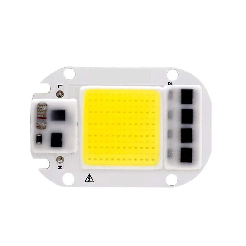5PCS Smart IC LED COB Chip Lamp Light AC 220V 110V 3W 5W 7W 9W 12W 15W 18W 20W 30W 50W Chip DIY For LED Floodlight Spotlight