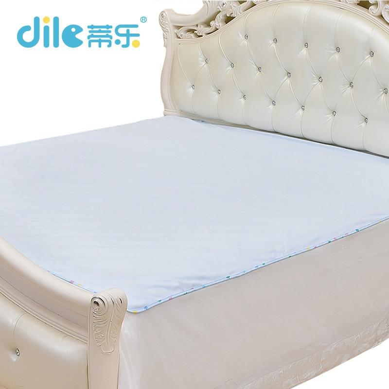 ФОТО new top quality  baby crib mattress pure color waterproof pad urin bamboo fiber newborn wash  pad baby changing mat covers