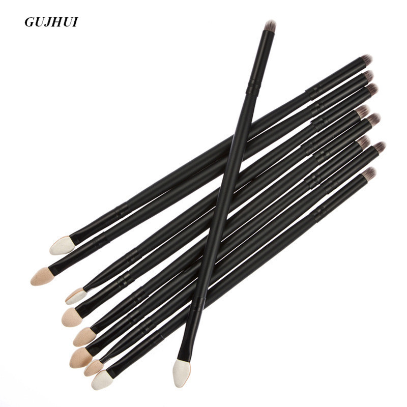 1pcs GUJHUI Cosmetic Multifunctional professional makeup brushes Double Sided Eye Shadow make up brushe Cosmetic maquillage Tool