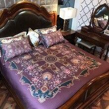 Europe style bohemia Bedding set Egyptian cotton bedclothes Queen/King Size Luxury Boho bed sheet set duvet cover pillowcase