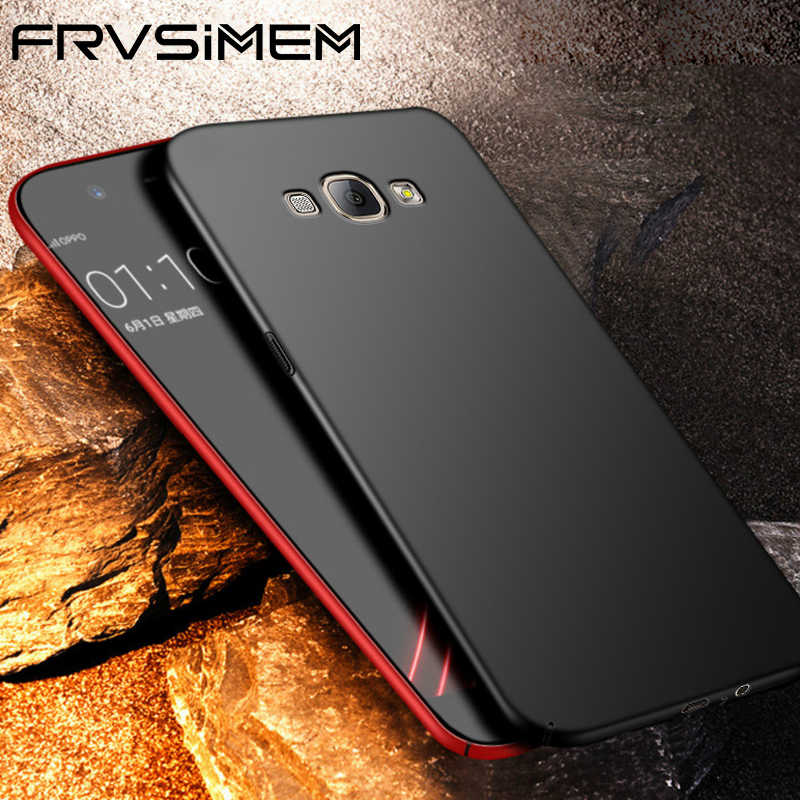 FRVSIMEM Case Full For Samsung Galaxy J1 J2 J3 J5 J7 2016 2017 Prime j4 j6 Duos Duo Metal NEO NXT Pro Prime Hard Cover PC Cases