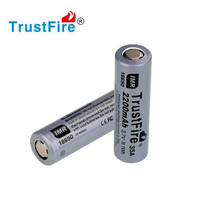 2pcs/lot TrustFire IMR 18650 2200mah 35A 3.7V High Drain Rechargeable Battery Li-ion Batteries