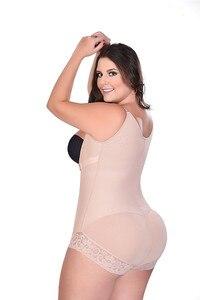 Image 4 - Faja moldeadora de talla grande para mujer, ropa interior adelgazante, body moldeador de cintura, pantalones de Control de talla grande 6XL