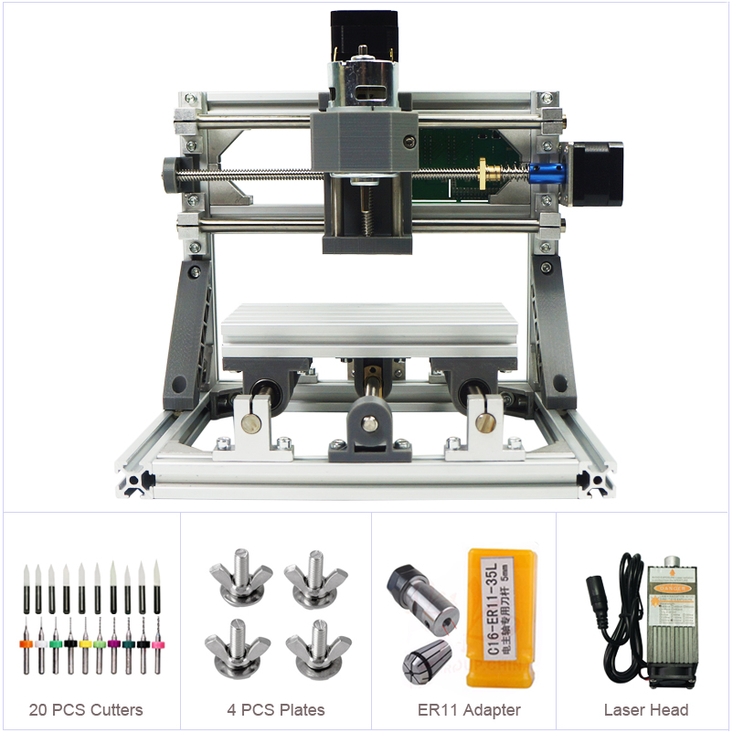 Desktop 1610 GRBL Control DIY Mini CNC Machine Working Area 160x100x40mm CNC RouterDesktop 1610 GRBL Control DIY Mini CNC Machine Working Area 160x100x40mm CNC Router