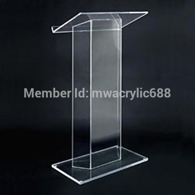 pulpit furniture Free Shipping High Soundness Modern Design Cheap Clear Acrylic Lectern acrylic podium blackview uc 29