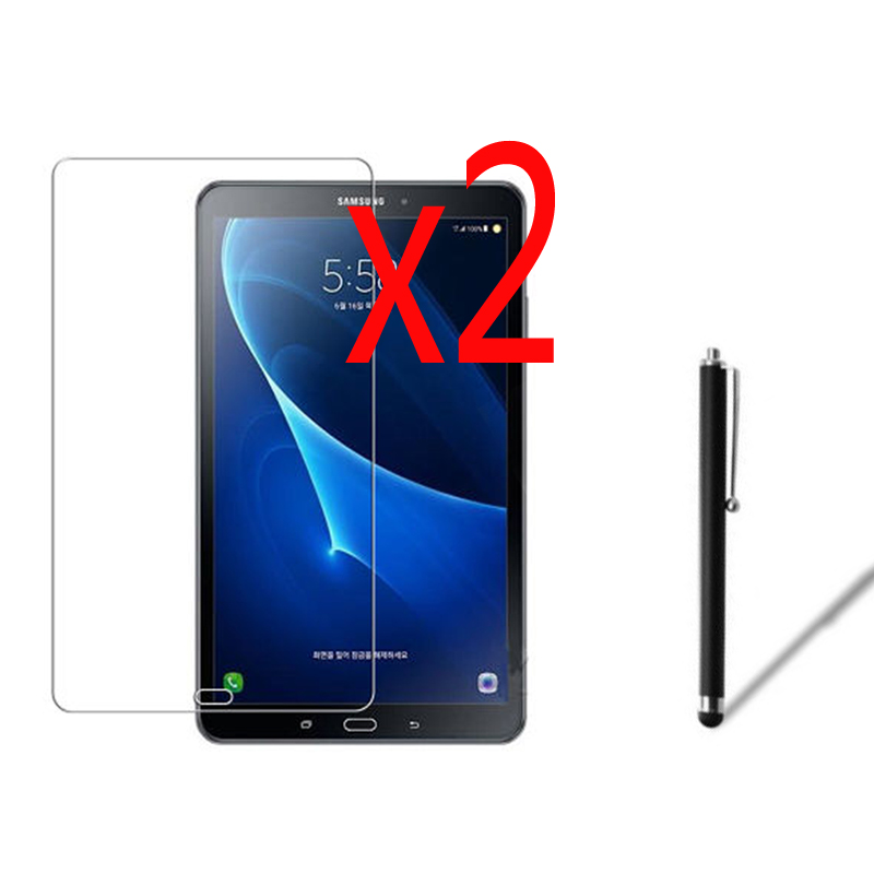 2x films 1x Stylus Matted Matte Screen Protector Protective Film Guards For Samsung Galaxy Tab A