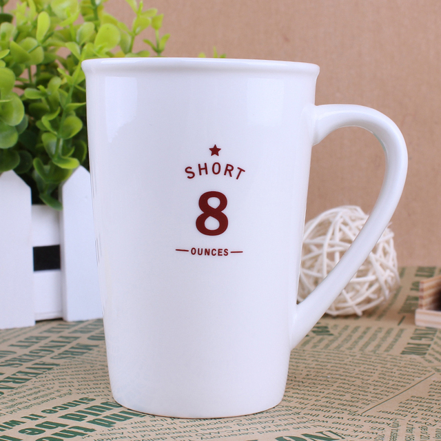 8oz Glossy Cup Ceramic Water Coffee Mug 300ml