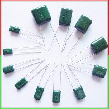10 шт. Майларовый пленочный конденсатор 100 в 2A 220pF ~ 0,47 мкФ 5% (2A221J ~ 2A474J) полиэфирный пленочный конденсатор