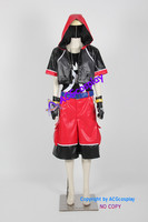 Kingdom Hearts Dream Drop Distance Sora Cosplay Costume include necklace and gloves prop acgcosplay