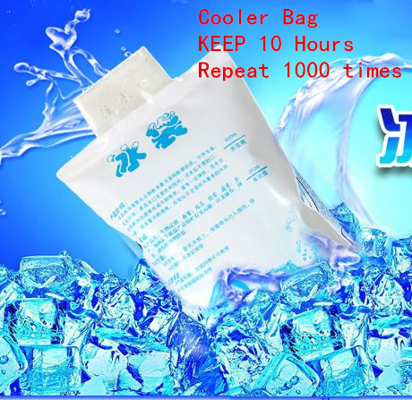 ice pack water change to Gel cooling bag cooler preservation 10 hours repeated 1000 times Z291
