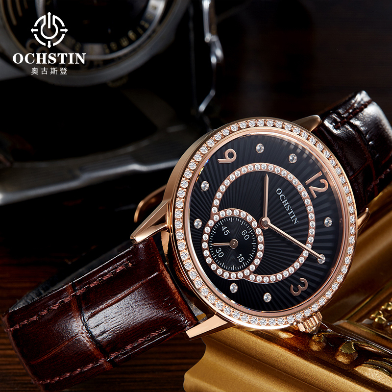 OCHSTIN Famous Brand Quartz Watch Women Watches Ladies 2016 Female Clock Wrist Watch Quartz-watch Montre Femme Relogio Feminino xiniu casual women watches men women watch quartz dial clock leather wrist watch montre femme horloge relogio feminino 2017