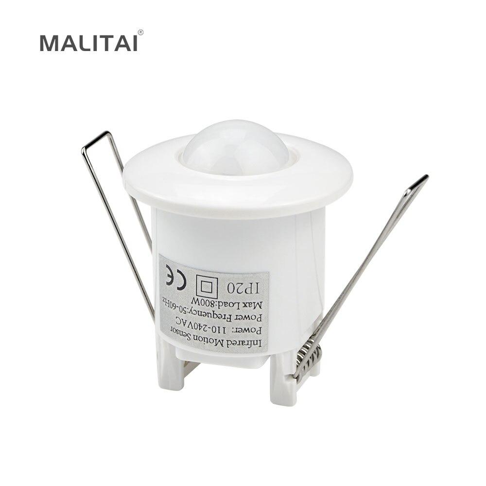Hohe Empfindlichkeit PIR Bewegungsmelder lichtschalter AC 110 V-240 V Infrarot-detektor LED lampe Automatische Smart Switch ON/OFF