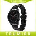 22mm de liberación rápida de acero inoxidable reloj band para samsung gear s3 classic frontera butterfly correa de hebilla de pulsera pulsera de la correa