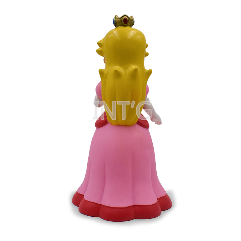 9 39 39 22cm Super Mario Bros Peach Princess PVC Action Figures Toys for Children Figures Collection in Action amp Toy Figures from Toys amp Hobbies