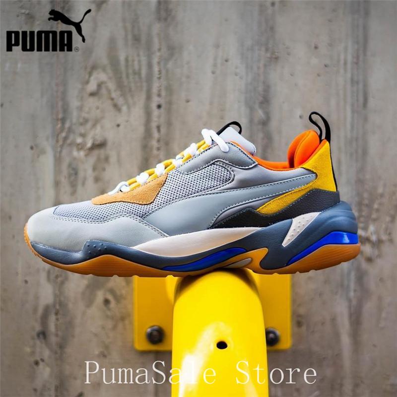 aca19d9d191 PUMA Mens Thunder Spectra Sneakers Men Women Sports Shoes 367516 02  Badminton Shoes Thunder Desert Retro Dad Shoes 35.5 44-in Badminton Shoes  from Sports ...