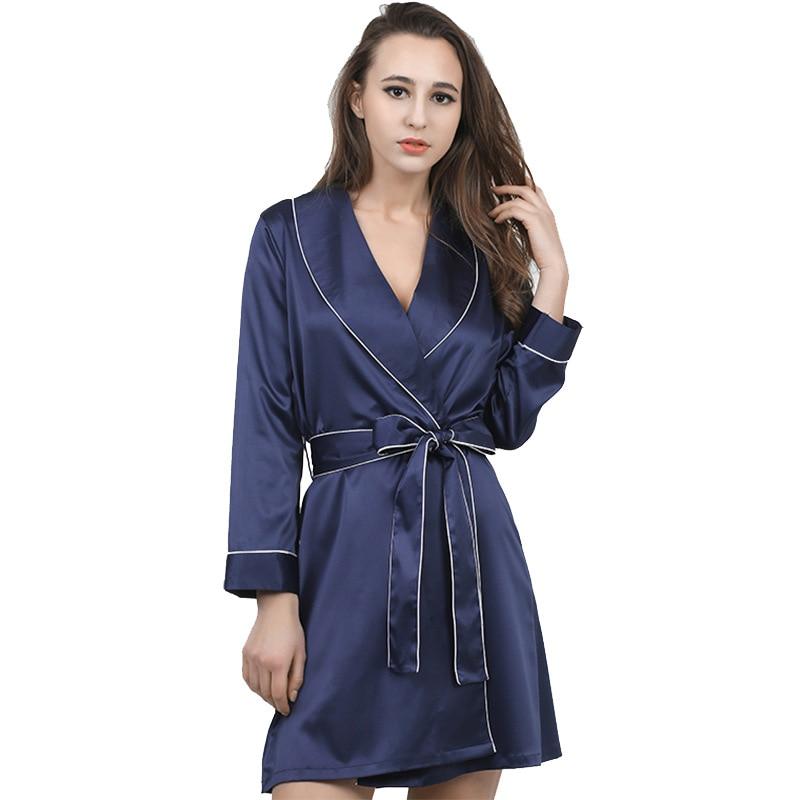 new arrival women\'s sexy bathrobes satin silk lace bridesmaid robes ...