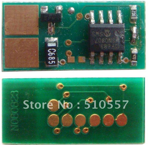 Laser pritner drum cartridge chip  used for Lexmark T620/T622