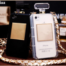 LaMaDiaa Hot High Puality Perfume Bottle Lanyard Chain TPU Case Handbag